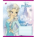 А5/12 кл. YES глиттер FROZEN. WINTER TALE -16, тетрадь