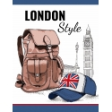 Тетрадь А5/144 пл.обл. London style YES
