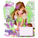 А5/12 лин. YES матовый ВДЛ+глиттер WINX MAGIC STYLE-16, тетрадь